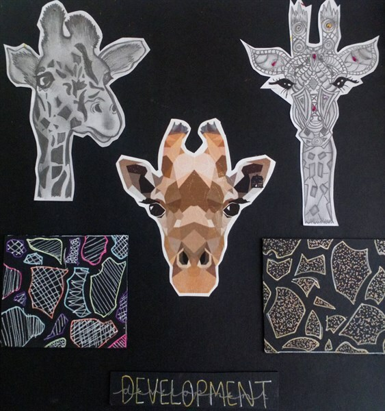 Year 9 Natural Forms Gallery HS
